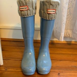 Hunter Boots💙